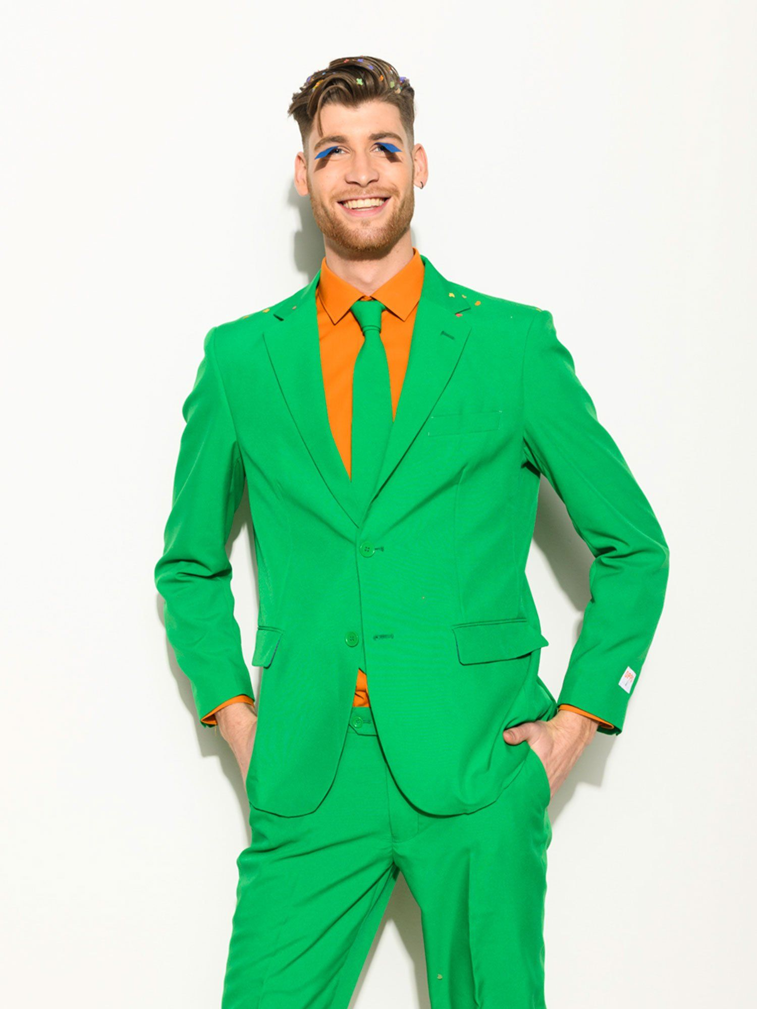 Opposuits Mens Evergreen Party Costume Suit Green 46 You Can Obtain Added Information At The Im Carnival Outfits Party Outfits For Women Mardi Gras Outfits