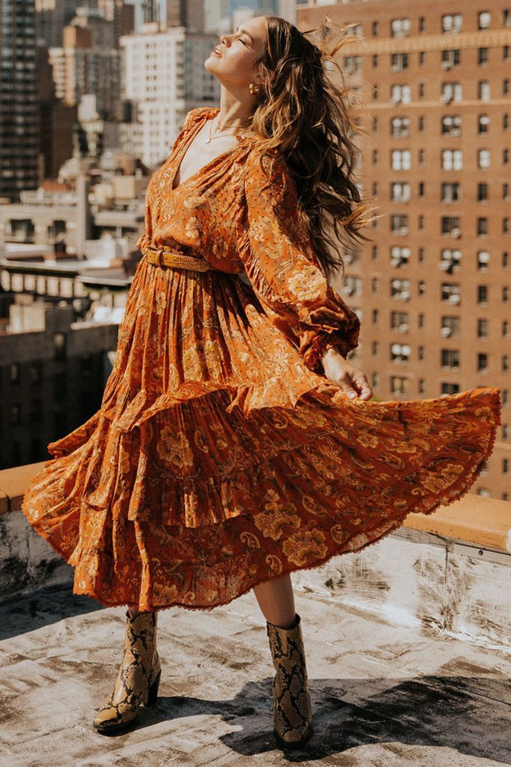 Boho Chic Kleider Bohemian in 17  Boho outfits, Boho dress
