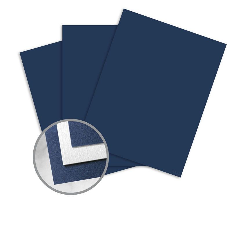 Beckett Cambric Blazer Blue White Paper 26 X 40 In 130 Lb Cover Duplex Linen 15 Recycled 75 Per Package Blue And White Blue Blazer Linen