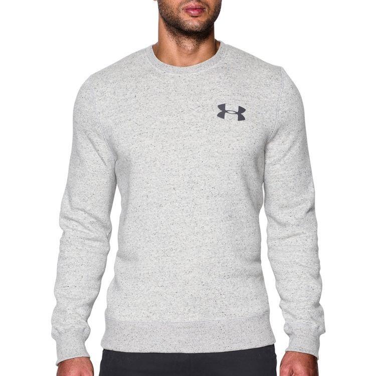 $50 NEW MENS UNDER ARMOUR RIVAL FLEECE crewneck sweatshirt long sleeve top LARGE #UnderArmour #SweatshirtCrew