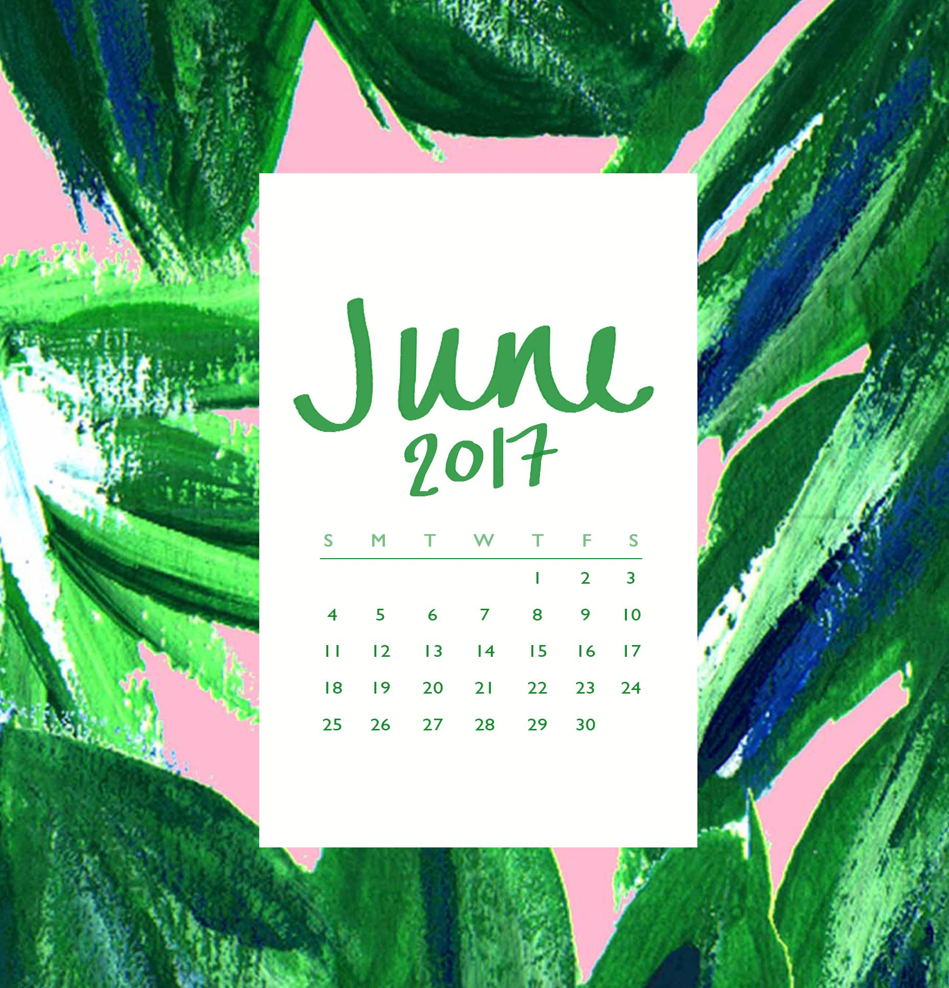 Free Download Hello June With Images Calendar Wallpaper