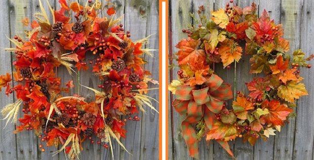 Поделки на тему осень своими руками из природных ...