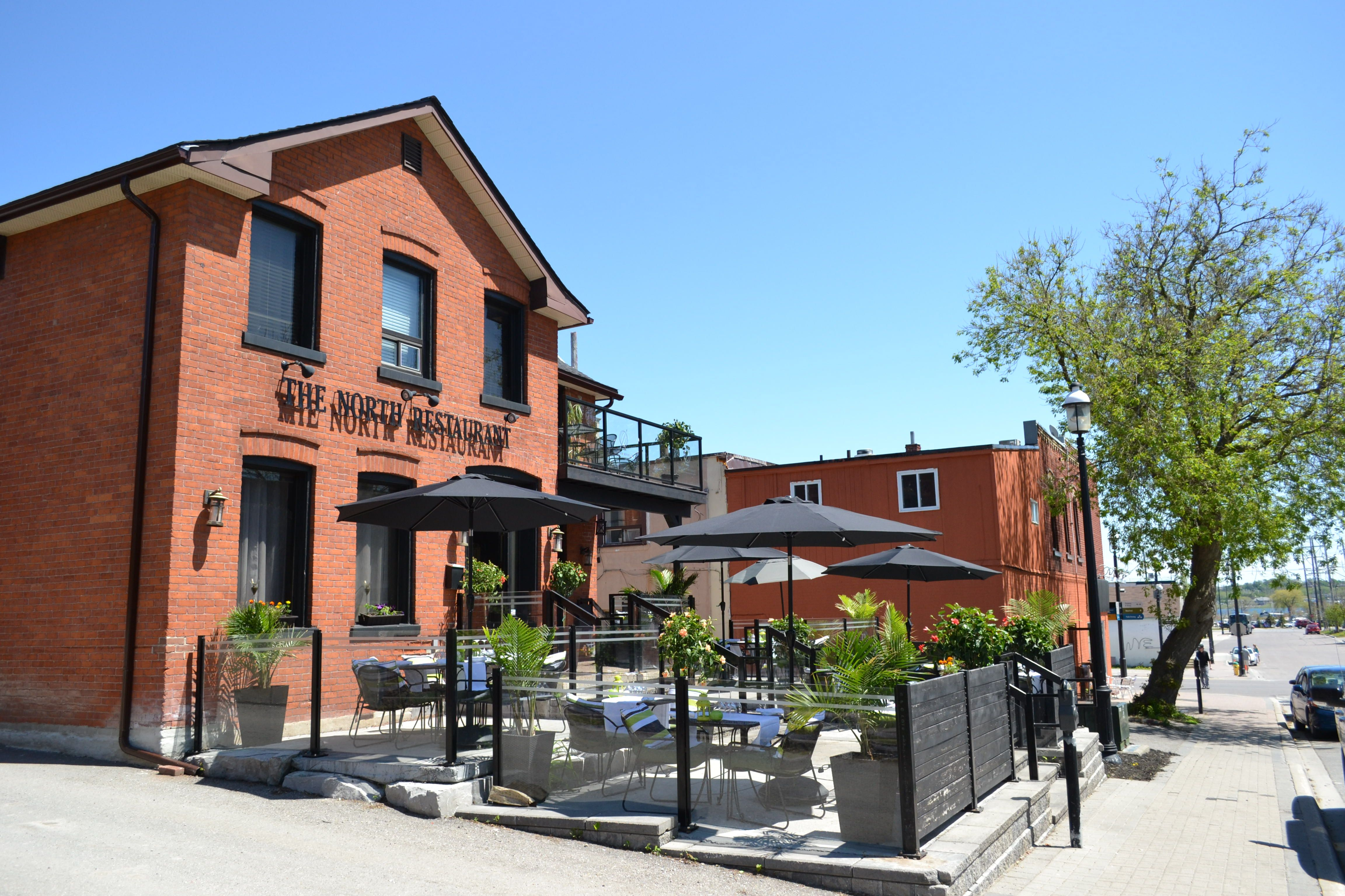 Outdoor Patio North Restaurant Downtown Barrie
