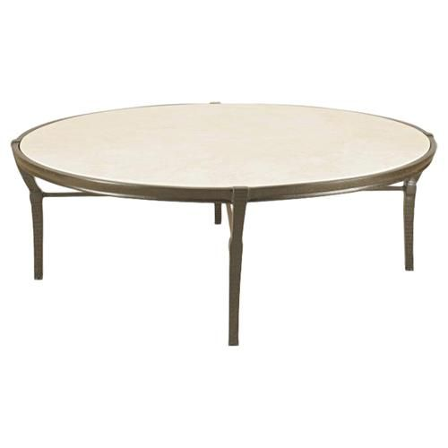 Jane Modern French Round Stone Top Metal Outdoor Coffee Table | Outdoor Coffee Tables, Garden Coffee Table, Coffee Table