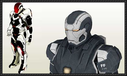 Here are two iron man armor paper models mark xxii hot rod mark here are two iron man armor paper models mark xxii hot rod mark 22 pronofoot35fo Image collections