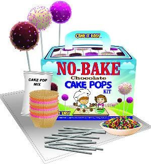 Cake It Easy NoBake Cake Pops Kit is a deliciously fun edible arts