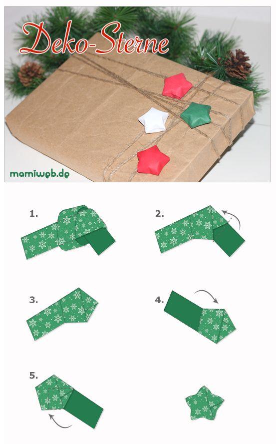 origami stern weihnachten pinterest. Black Bedroom Furniture Sets. Home Design Ideas