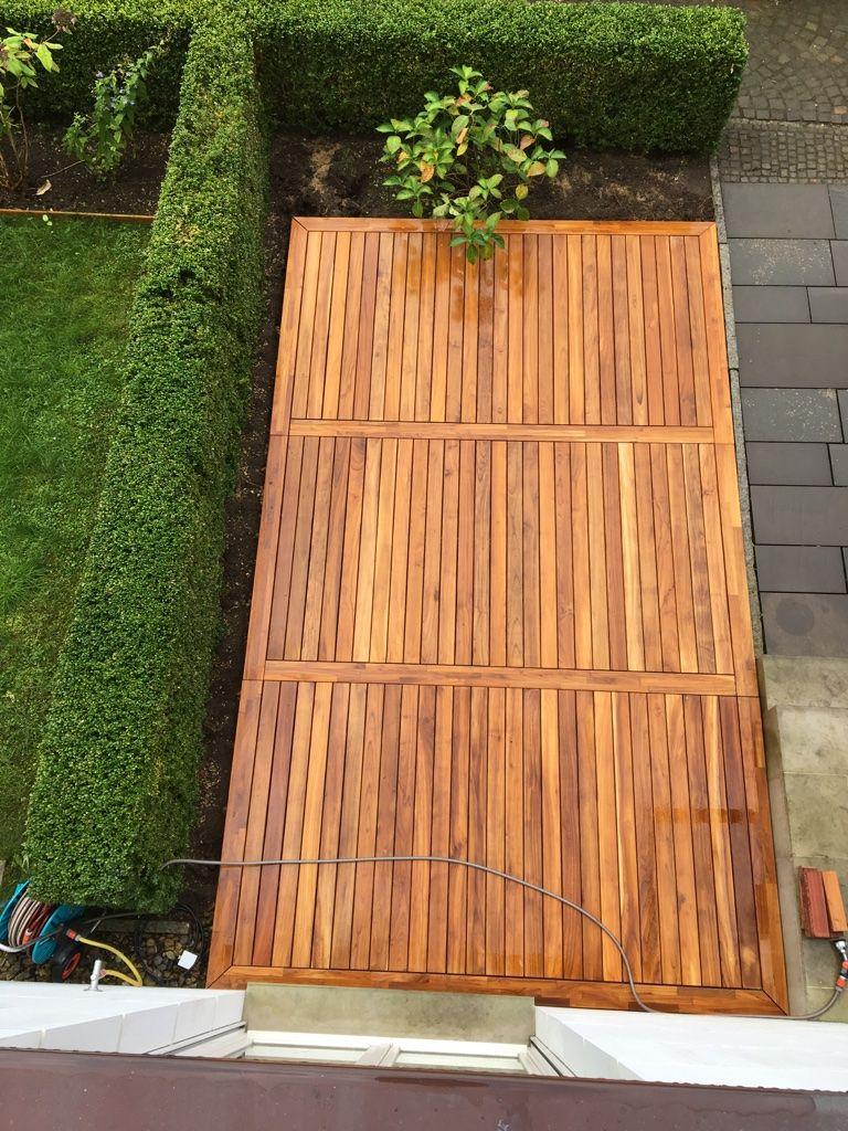 Teakholz terrasse  Erfahrungen mit Teak-Terrassendielen von | Terrassen | Terraces ...