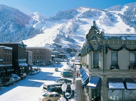 ASPEN, COLORADO-awesome place went here when I was little! - Double click on the photo to get or sell a travel guide to #Aspen