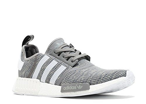 37293360c1a  188 adidas Originals Men s NMD R1 Glitch Graphic Dark Grey Heather Solid  Grey Footwear White Footwear White Athletic Shoe