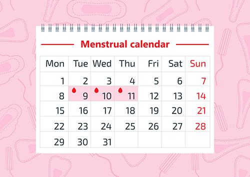 8 اسباب تؤدي الى عدم انتظام الدورة الشهرية عند النساء Irregular Menstrual Cycle Menstrual Cycle Menstrual