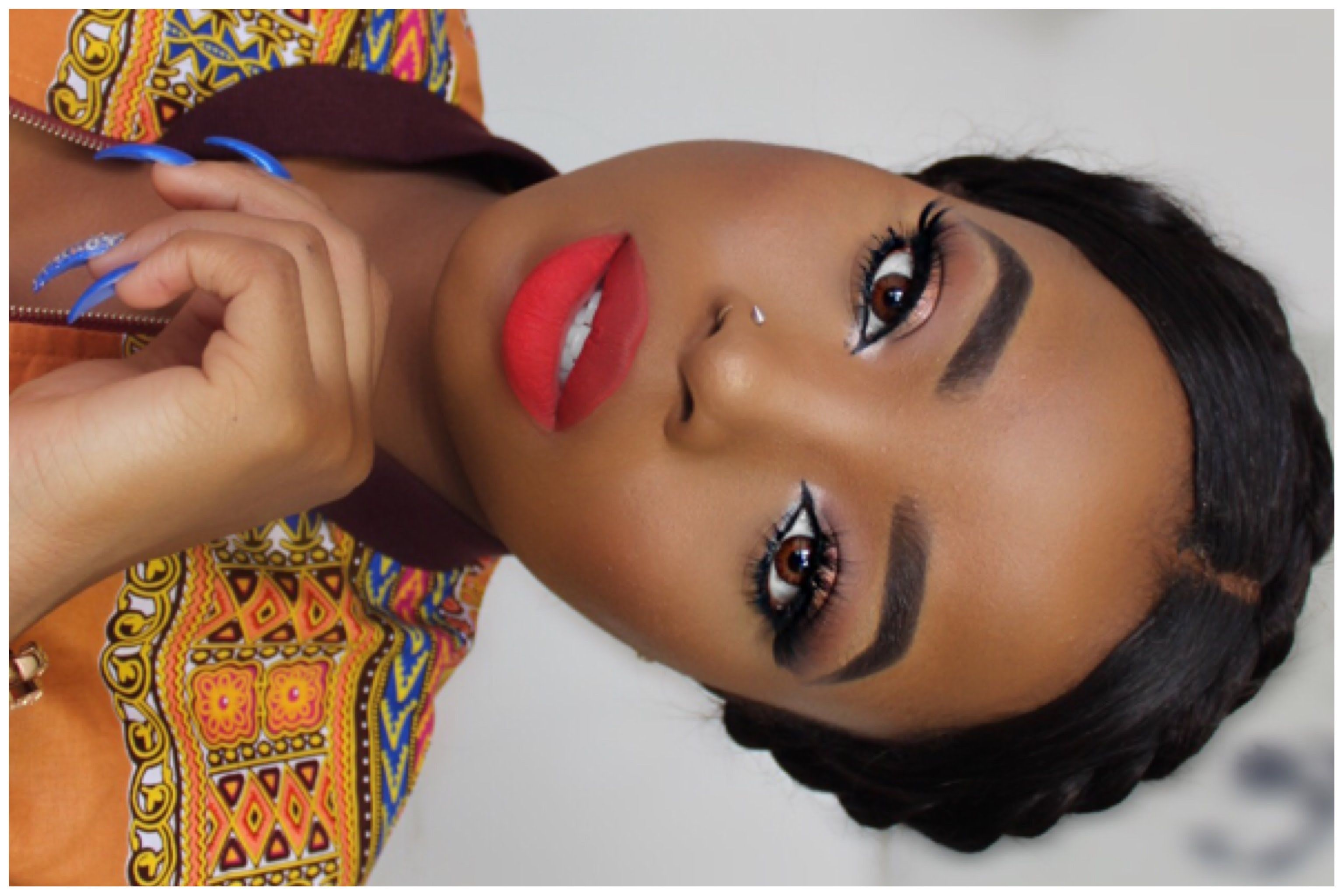 BLACK OWNED MAKEUP BRANDS TUTORIAL + OUTFIT RESPONSE TO