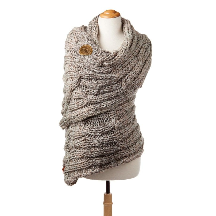 Merino Wool Shawl | Knit A Bit Or Better More ...