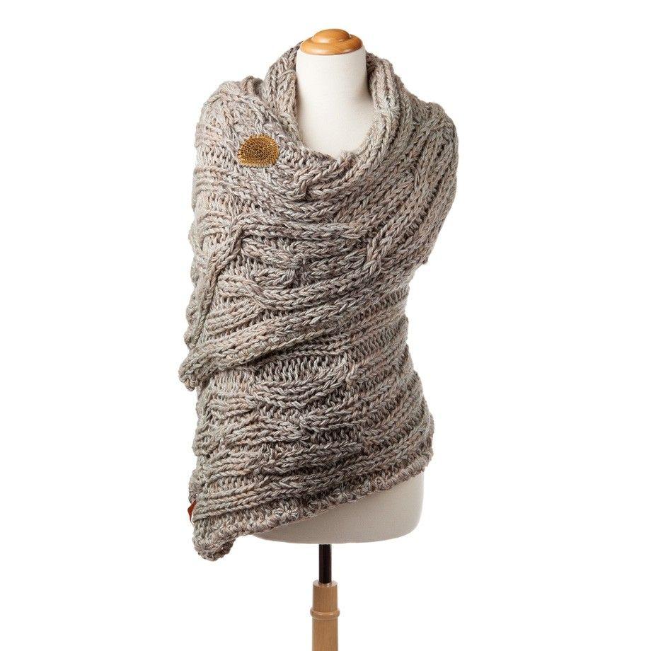 Merino Wool Shawl | Knit A Bit Or Better More ...