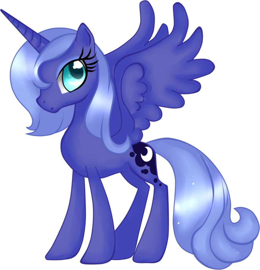 Princess Luna by hanaty.deviantart.com on @DeviantArt