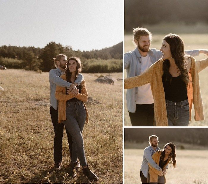 Rocky Mountain National Park Engagement Shoot