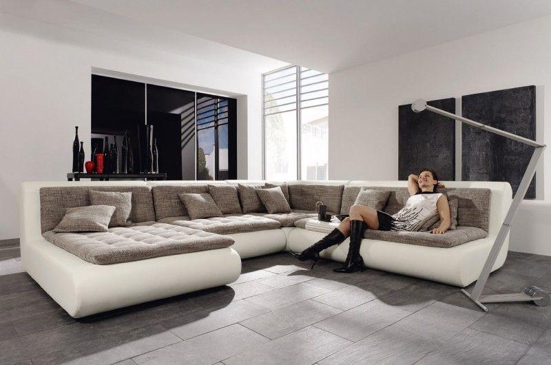 wohnlandschaft for inspiration idea livingroom design. Black Bedroom Furniture Sets. Home Design Ideas