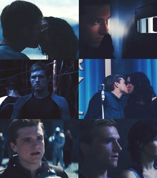 Peeta Mellark Color Collages Blue Hunger Games Hunger Games