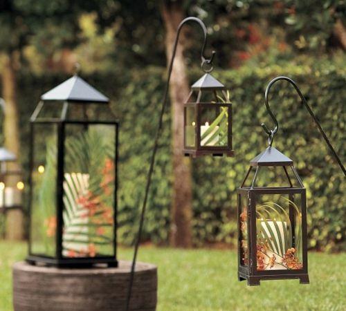 garten laterne beleuchtung windlichter hochzeitsdeko pinterest. Black Bedroom Furniture Sets. Home Design Ideas