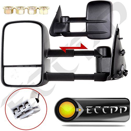 Eccpp Nonheated Power Towing Mirrors For 1997 1998 1999 Ford F150 F250 Standard Extended Cab Not F Towing Mirrors Chevy Silverado 2500 Hd 2006 Chevy Silverado