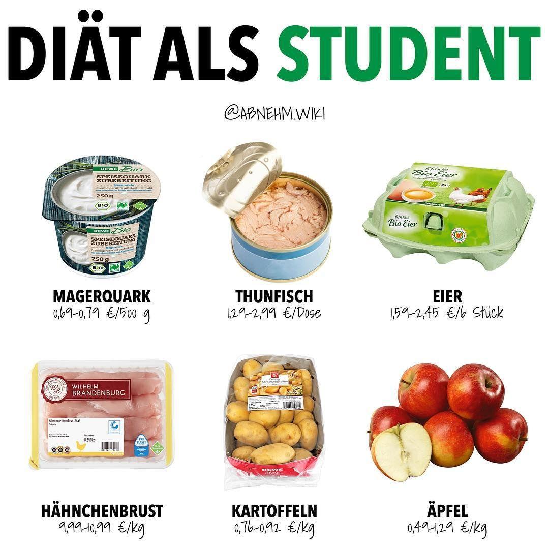 Diat Einkaufsliste Als Student Werbung Es Gibt Nicht Das