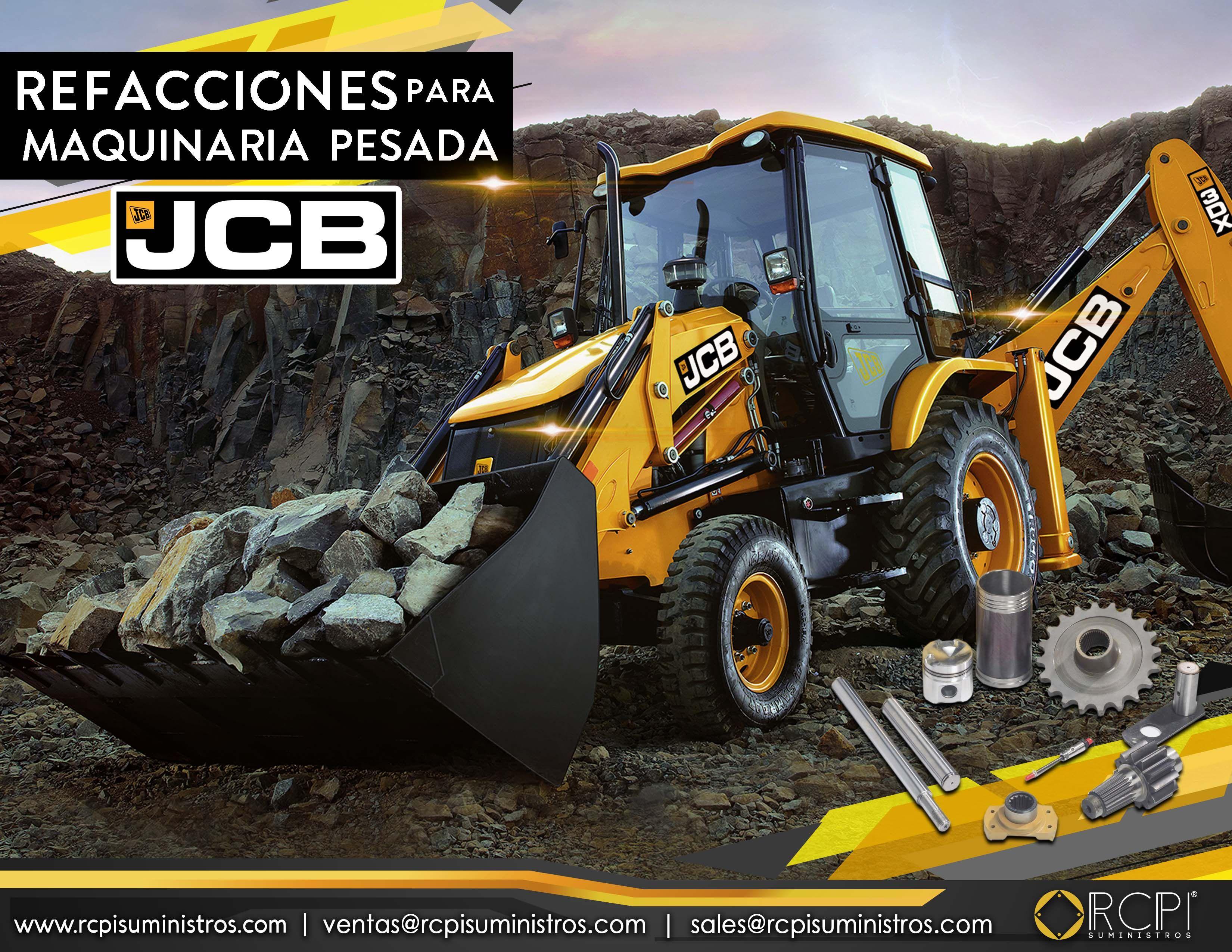 Venta Repuestos Para Equipo De Construccion Jcb Maquinaria Jcb Retroexcavadora Parts Repuestos Gruas Industriales Refacciones Maquinaria De Construccion