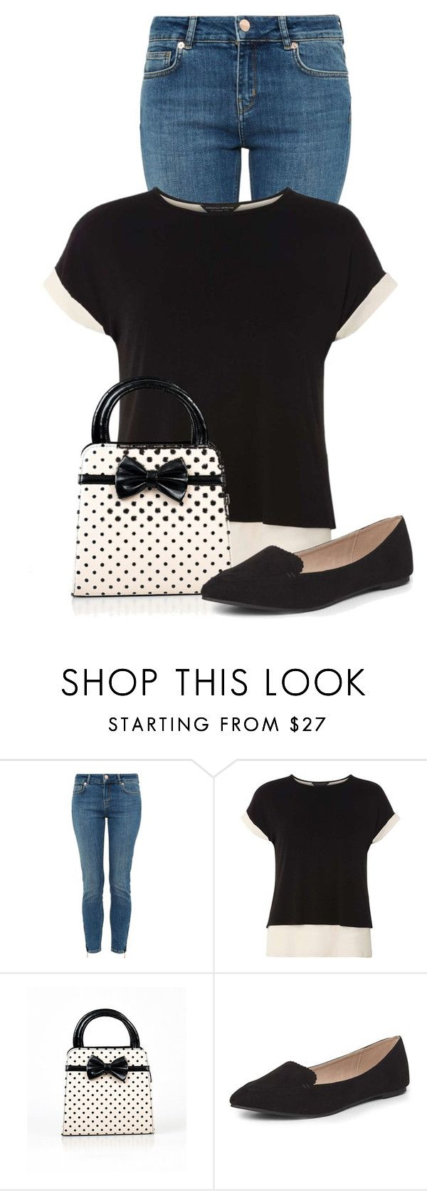 """""""Untitled #22033"""" by nanette-253 ❤ liked on Polyvore featuring Ted Baker and Dorothy Perkins"""