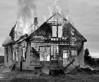 Atticus Is Woken Up To See Miss Maudie S House Burning Down House Fire Inspirational Images Fire