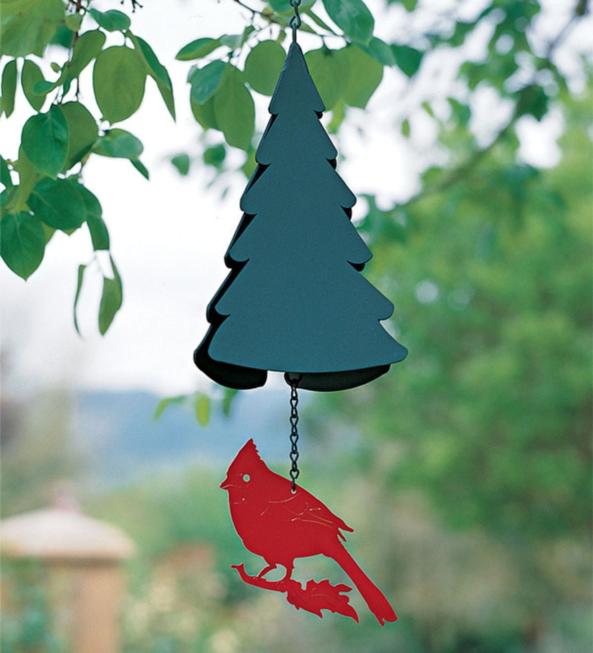 This wind bell is a piece of contemporary American Folk