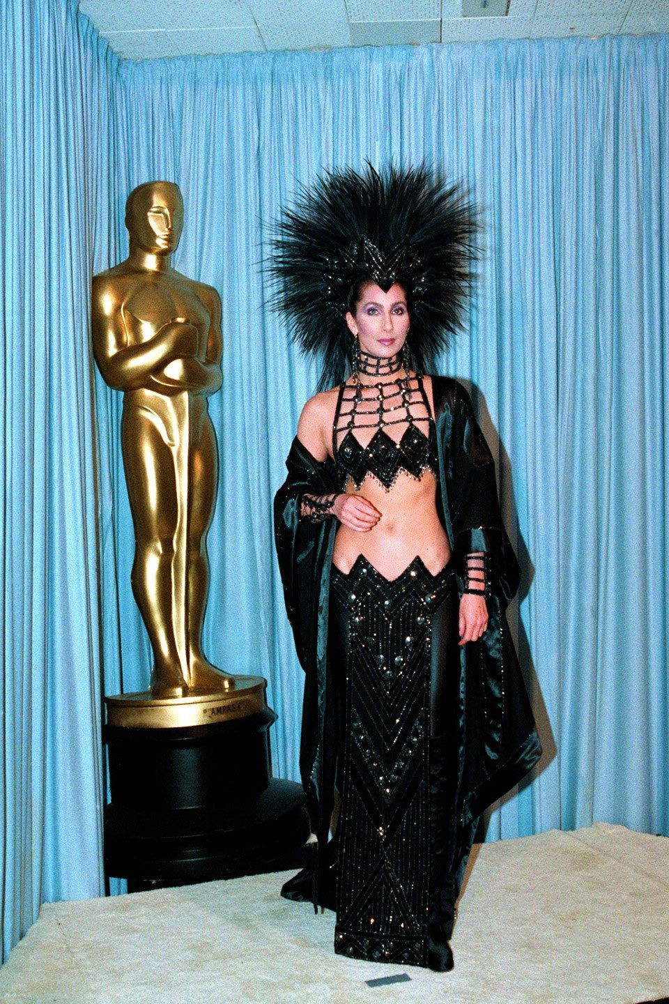 Cher At 70 11 Fashion Flashbacks That Remind Us Why She S A Style Icon Fashion Red Carpet Dresses Best Oscar Fashion