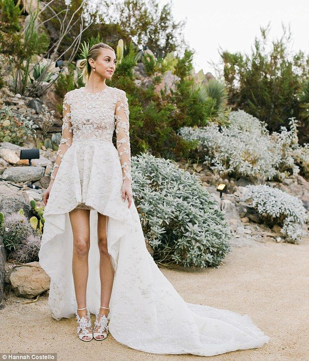 Legs Wedding Dress