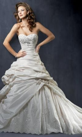 Maggie Sottero Sabelle This Dress For A Fraction Of The Salon Price On Preownedweddingdresses