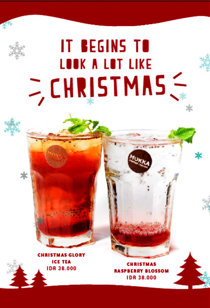 New on our menus specially for Mokka Coffee Cabana lovers this holiday season! Get into the Hype and share your expirience with us