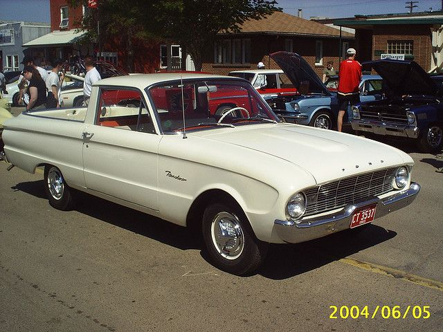 1960 Ford Falcon Ranchero Where Ford Started Making Utes For The United States And Canada Two Years After Chevrolet Introd Ford Falcon Built Ford Tough Ford