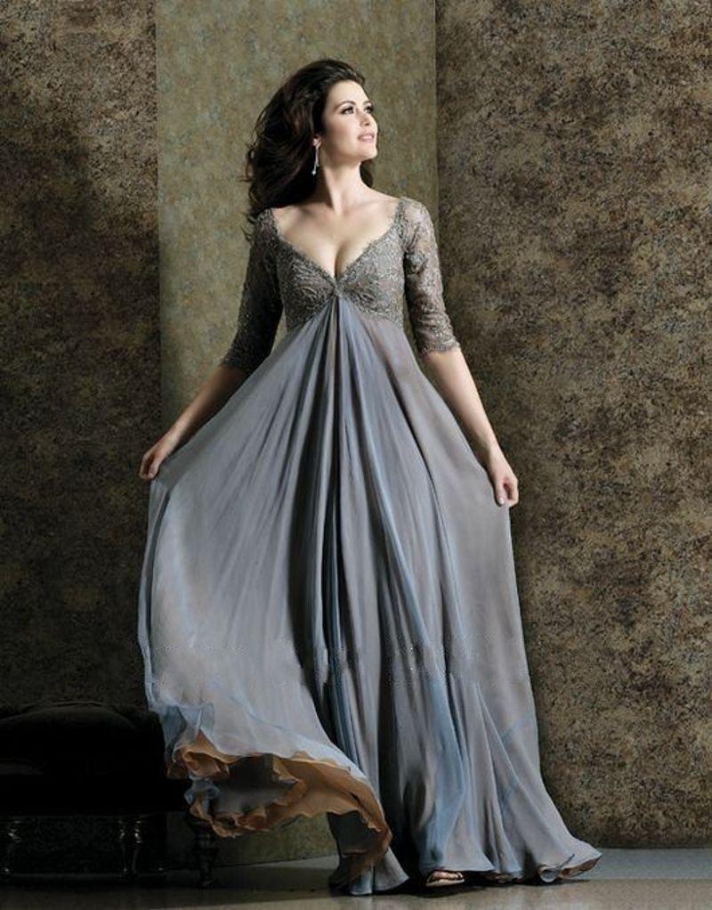 Cool Вечерние платья для полных женщин фото u Лучшие фасоны и