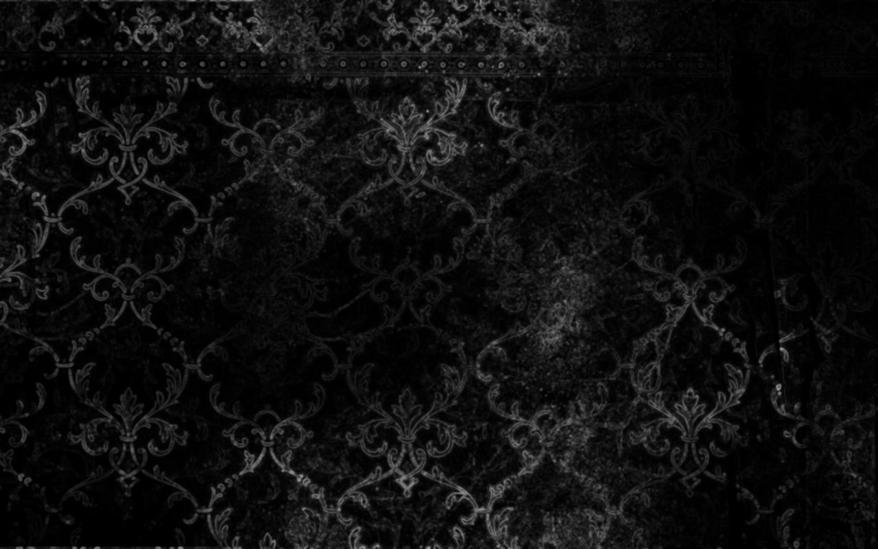 In Black Victorian Wallpaper Background Vintage Gothic Background