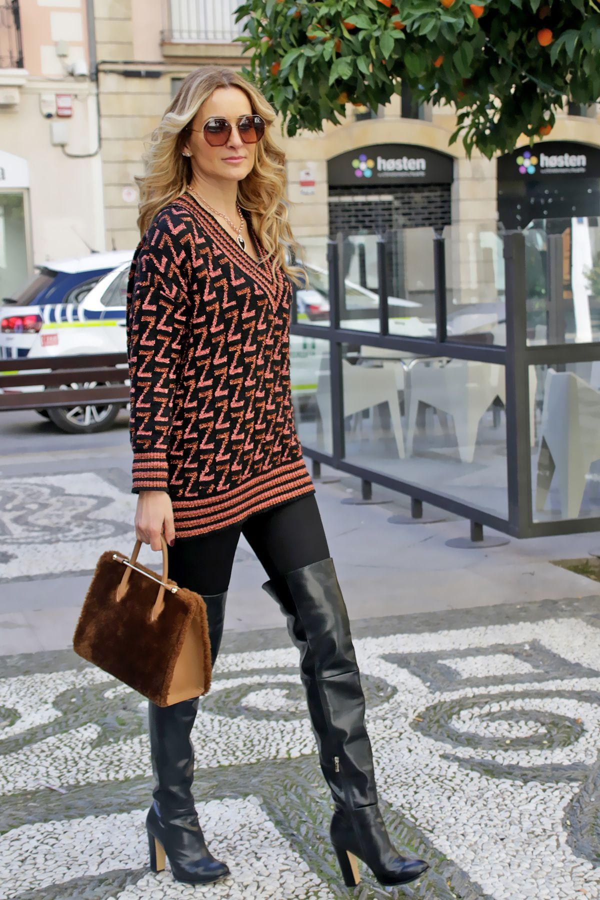 Leather Over The Knee Boots CCFashion in 2020 | Leather