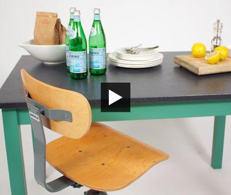 DIY Kitchen Prep Table | Kitchen prep table, Diy ...