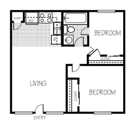 Pin by dolores higginson on hawaii house pinterest for Floor plans for 800 sq ft apartment