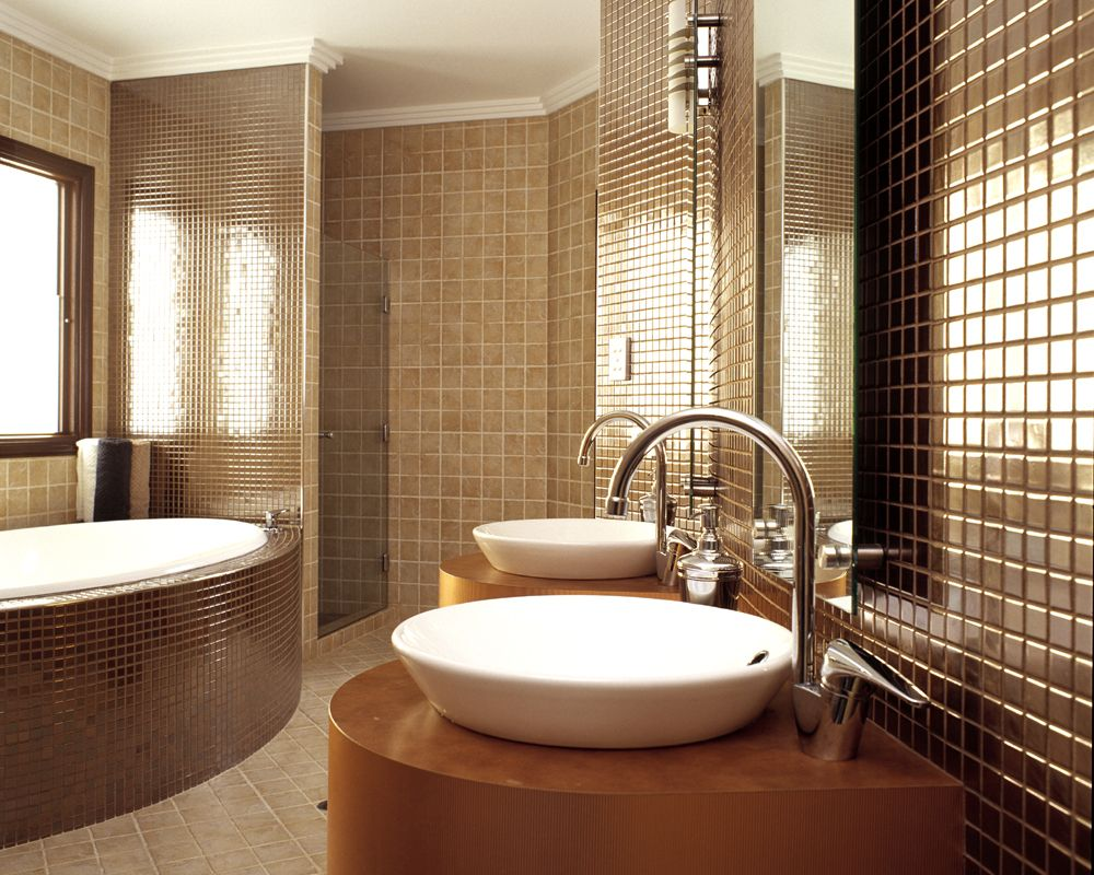 Interior Designer Bathroom Its Rare To Find All Copper Bathrooms Such As This From Backsplash