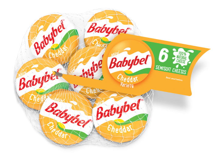 mini babybel cheddar variety cheese calories 70 net carbs 0 fat 6g protein 5g snacks. Black Bedroom Furniture Sets. Home Design Ideas