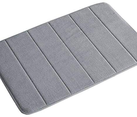 Amazon Com Memory Foam Bath Mat Soft Memory Foam Non Slip Bath