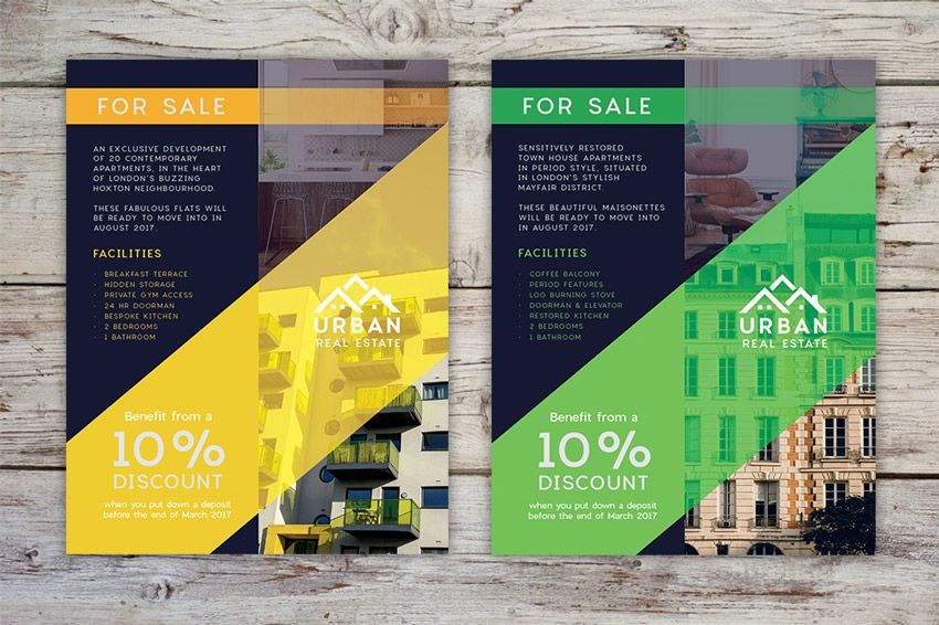 How To Design A Stylish Real Estate Flyer In Adobe Indesign Tuts