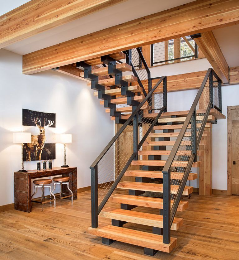 20 Excellent Traditional Staircases Design Ideas: 20 Graceful Rustic Staircase Designs You're Going To Love