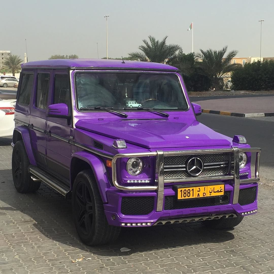 Purple mercedes benz g63 amg mercedes cars rides auto