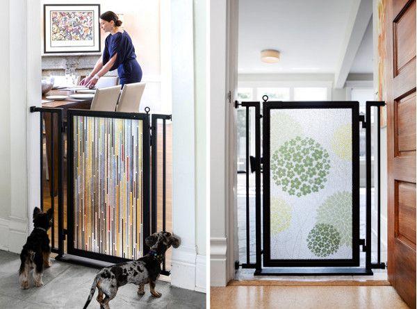 Modern Pet Gates From Fusion Gates
