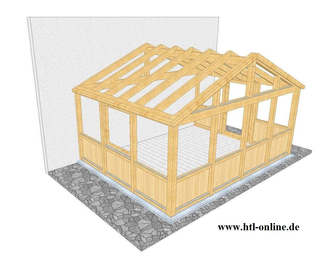 Wintergarten aus Holz HTL Holztechnik Holz Arbeit mit