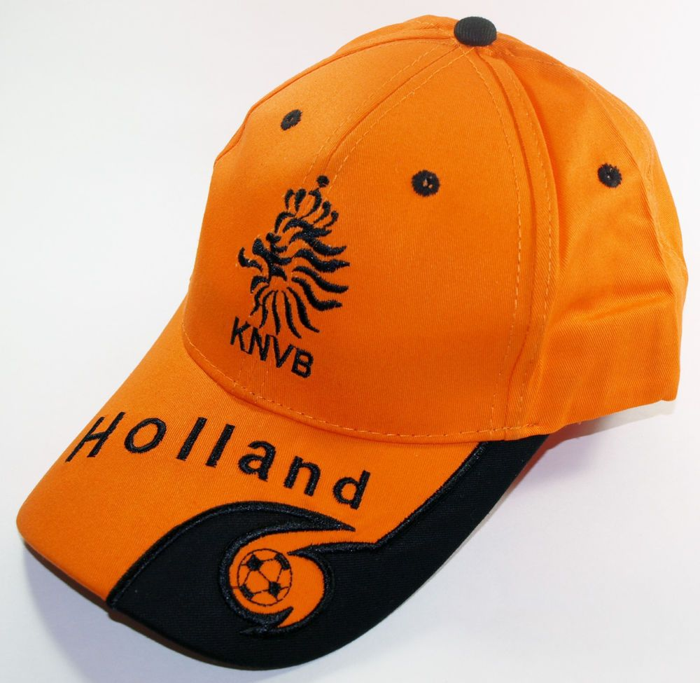 HOLLAND SOCCER CAP ORANGE SPORT FOOTBALL FÚTBOL