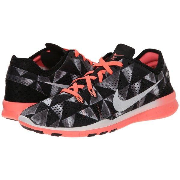 Nike Free 5.0 TR Fit 5 PRT (Black/Lava Glow/White) Women's