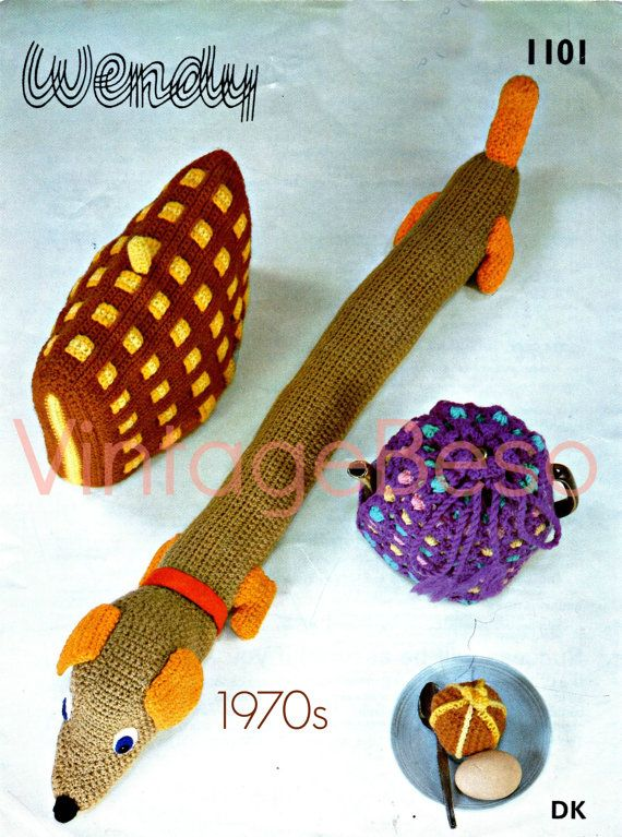 Ehi, ho trovato questa fantastica inserzione di Etsy su https://www.etsy.com/it/listing/265856276/4-patterns-1970s-crochet-patterns